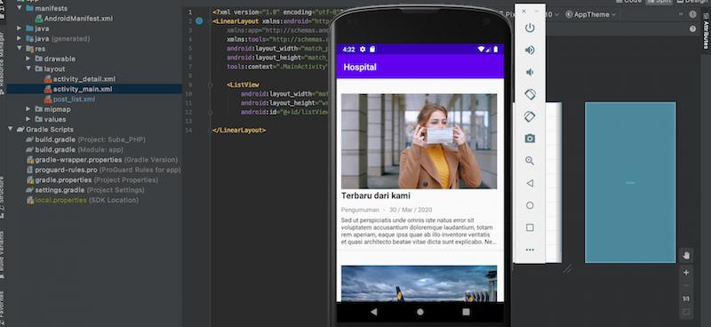 Membuat Aplikasi Berita Android dengan Android Studio, PHP dan Mysqli - Post List, Post Detail dan M