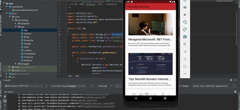 Pengenalan dan Setup Blogger API v3