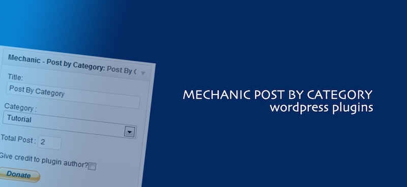 Mechanic Post by Category